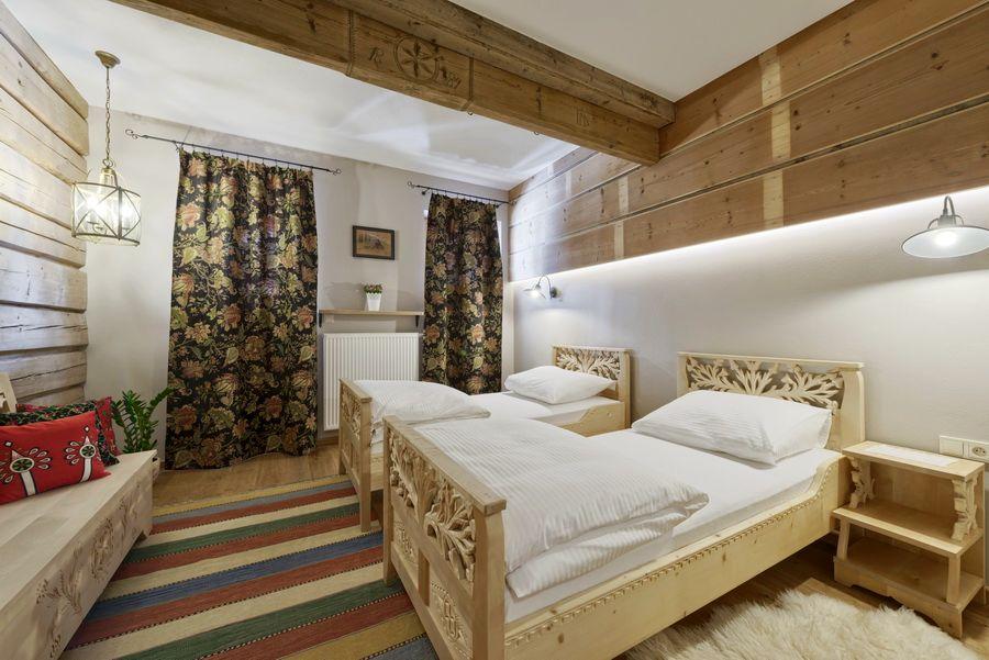 adelaparvu.com despre apartamente si case in stil rustic bucovinean, Apartament 15 WillaTatiana II, Zakopane, Polonia