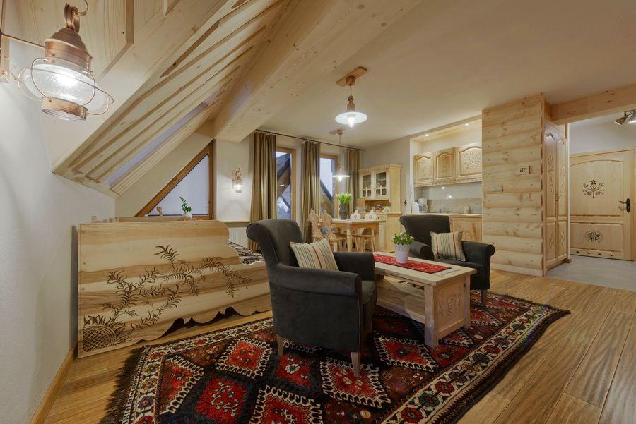 adelaparvu.com despre apartamente si case in stil rustic bucovinean, Apartament 16 WillaTatiana II, Zakopane, Polonia