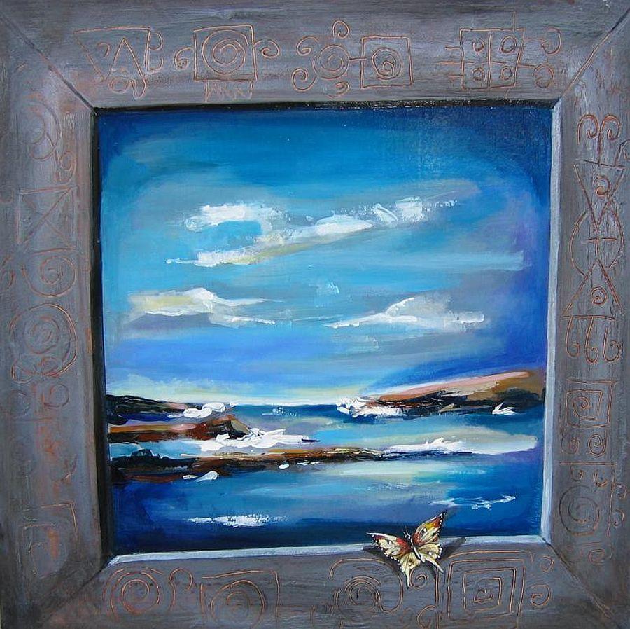 adelaparvu.com despre artist Felix Albus, picturi acrilic pe lemn (1)