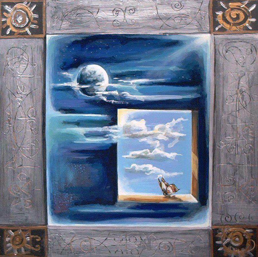 adelaparvu.com despre artist Felix Albus, picturi acrilic pe lemn (2)