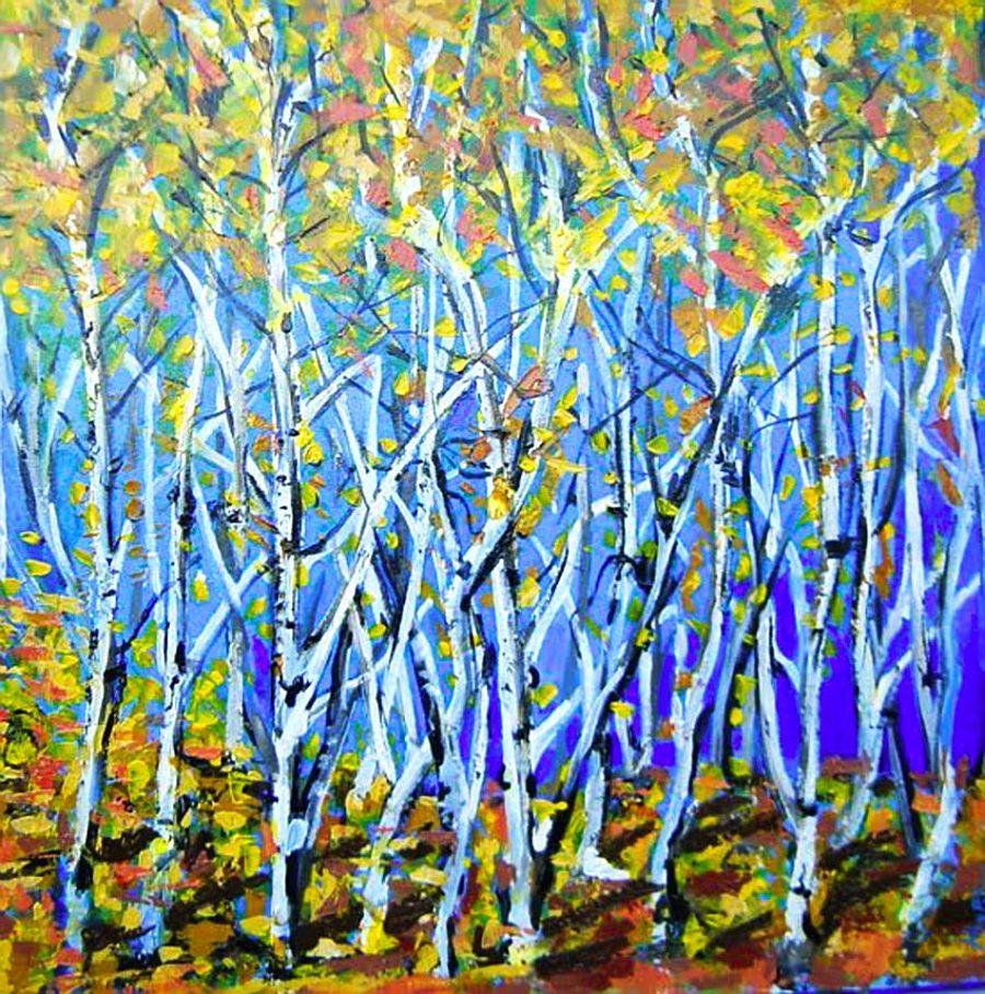 adelaparvu.com despre artist Felix Albus, picturi acrilic pe lemn (4)