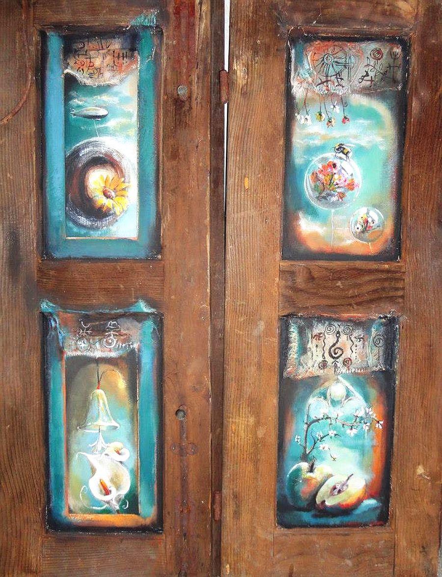 adelaparvu.com despre artist Felix Albus, picturi acrilic pe lemn (5)