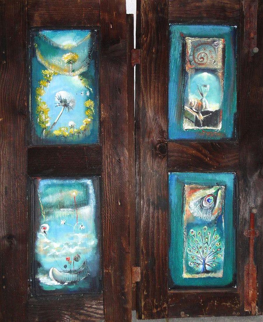 adelaparvu.com despre artist Felix Albus, picturi acrilic pe lemn (7)