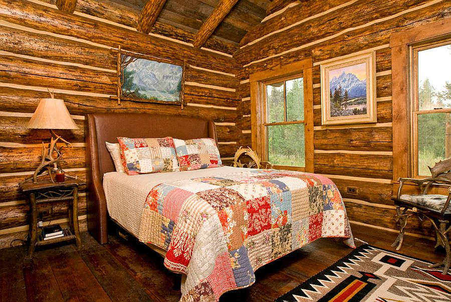 adelaparvu.com despre cabana din barne de lemn, casa de vacanta din barne de lemn, Lost Creek Jackson, arhitecti Ellis Nunn and Associates (10)