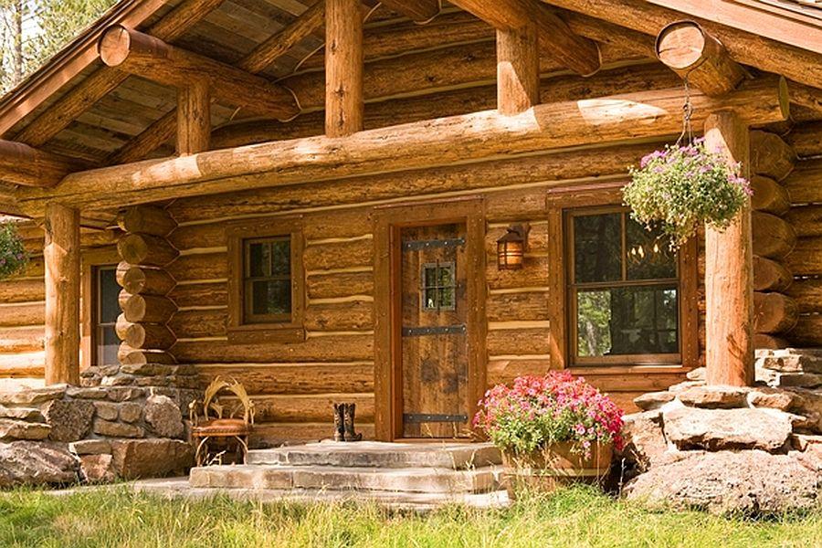 adelaparvu.com despre cabana din barne de lemn, casa de vacanta din barne de lemn, Lost Creek Jackson, arhitecti Ellis Nunn and Associates (11)