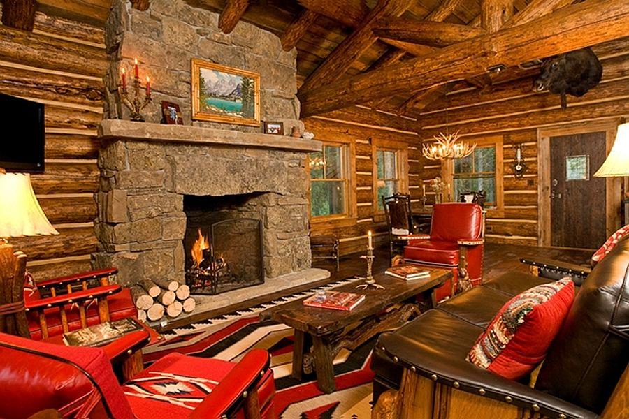 adelaparvu.com despre cabana din barne de lemn, casa de vacanta din barne de lemn, Lost Creek Jackson, arhitecti Ellis Nunn and Associates (12)