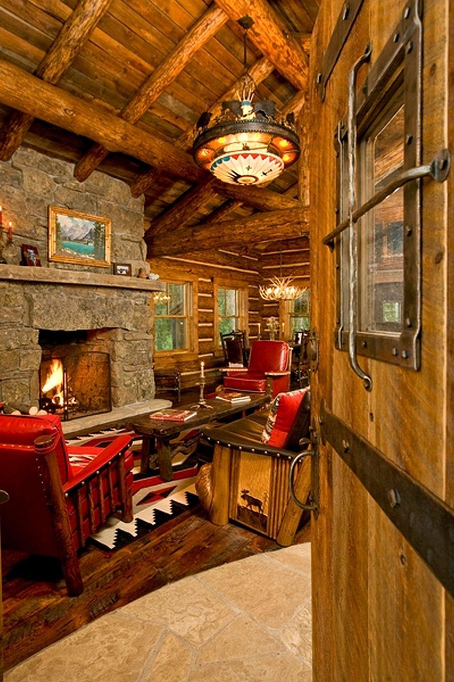adelaparvu.com despre cabana din barne de lemn, casa de vacanta din barne de lemn, Lost Creek Jackson, arhitecti Ellis Nunn and Associates (13)