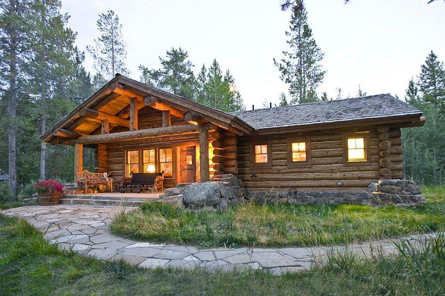 adelaparvu.com despre cabana din barne de lemn, casa de vacanta din barne de lemn, Lost Creek Jackson, arhitecti Ellis Nunn and Associates (14)