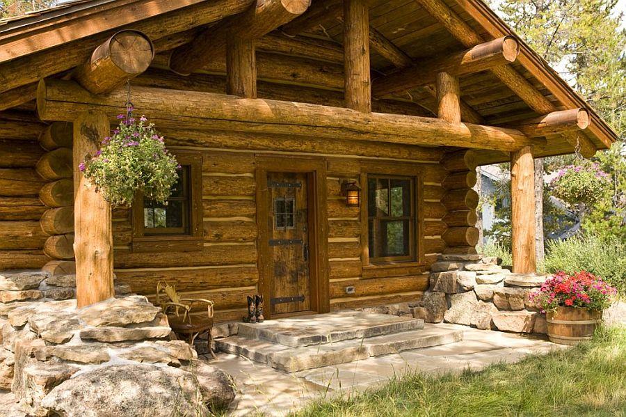 adelaparvu.com despre cabana din barne de lemn, casa de vacanta din barne de lemn, Lost Creek Jackson, arhitecti Ellis Nunn and Associates (15)