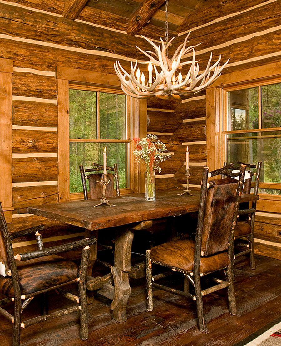 adelaparvu.com despre cabana din barne de lemn, casa de vacanta din barne de lemn, Lost Creek Jackson, arhitecti Ellis Nunn and Associates (2)