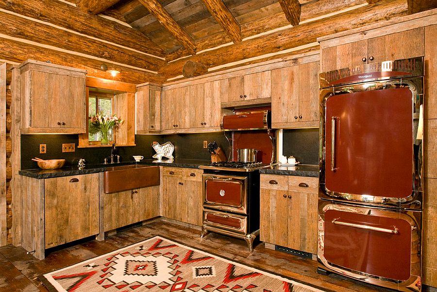 adelaparvu.com despre cabana din barne de lemn, casa de vacanta din barne de lemn, Lost Creek Jackson, arhitecti Ellis Nunn and Associates (3)