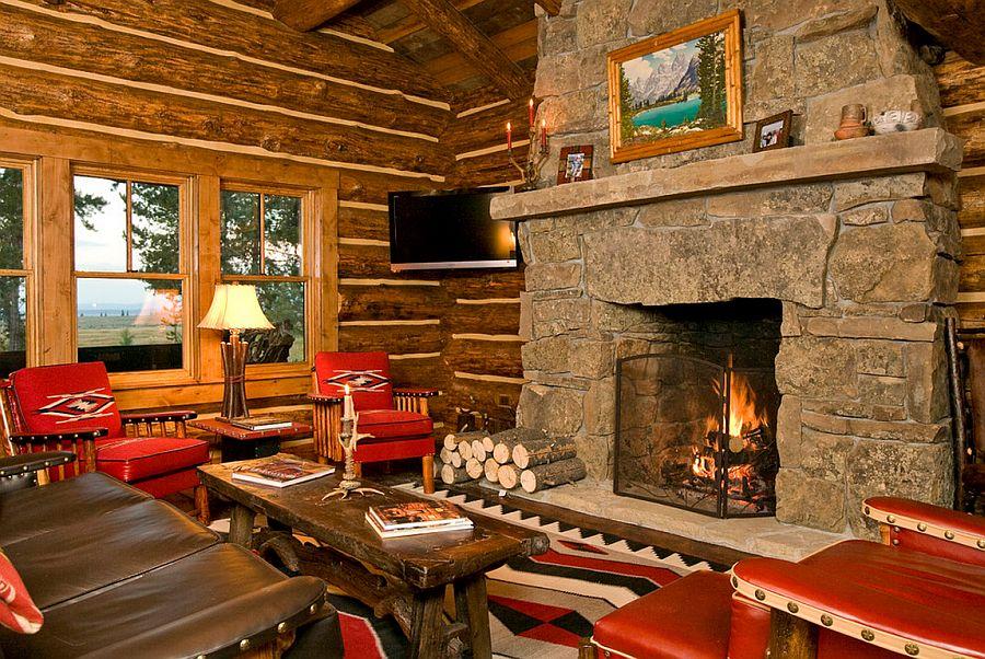 adelaparvu.com despre cabana din barne de lemn, casa de vacanta din barne de lemn, Lost Creek Jackson, arhitecti Ellis Nunn and Associates (4)