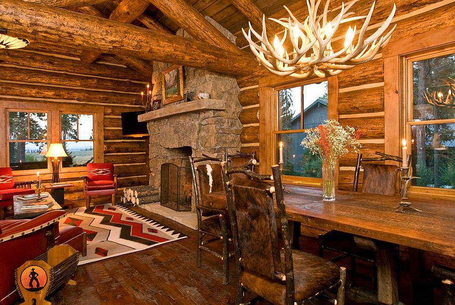 adelaparvu.com despre cabana din barne de lemn, casa de vacanta din barne de lemn, Lost Creek Jackson, arhitecti Ellis Nunn and Associates (5)