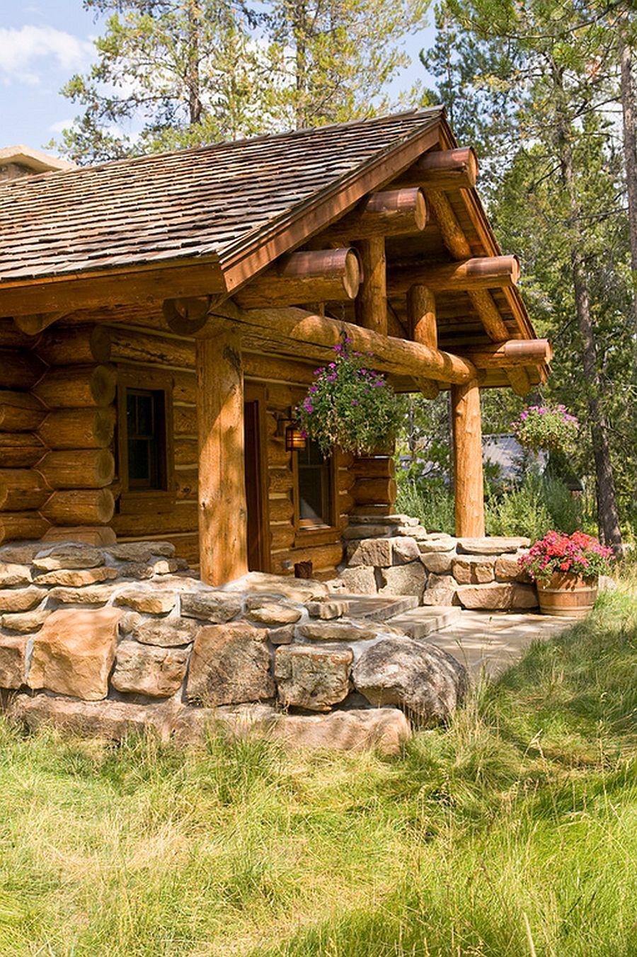 adelaparvu.com despre cabana din barne de lemn, casa de vacanta din barne de lemn, Lost Creek Jackson, arhitecti Ellis Nunn and Associates (7)