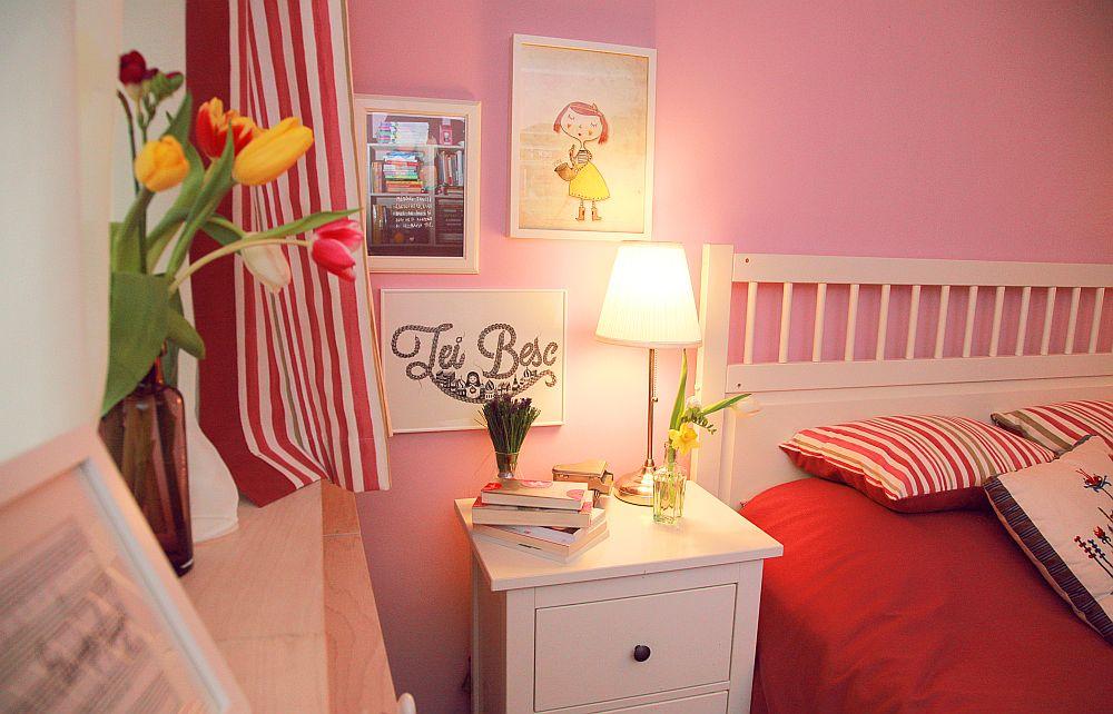 adelaparvu.com despre camera de tineret 16 mp, camera Raisei dormitor si loc de birou, design Alia Bakutayan si Daniel Tufis, Foto Valdecor (14)