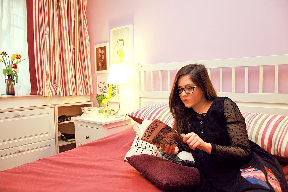 adelaparvu.com despre camera de tineret 16 mp, camera Raisei dormitor si loc de birou, design Alia Bakutayan si Daniel Tufis, Foto Valdecor (19)