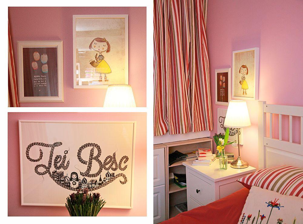 adelaparvu.com despre camera de tineret 16 mp, camera Raisei dormitor si loc de birou, design Alia Bakutayan si Daniel Tufis, Foto Valdecor (24)