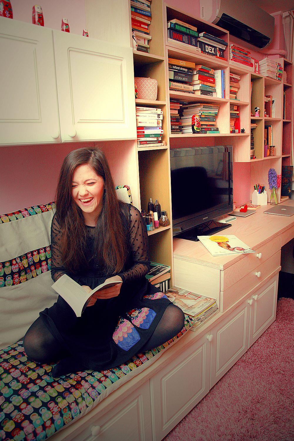 Raisa Beicu si unul dintre locurile ei preferate dupa reamenajare