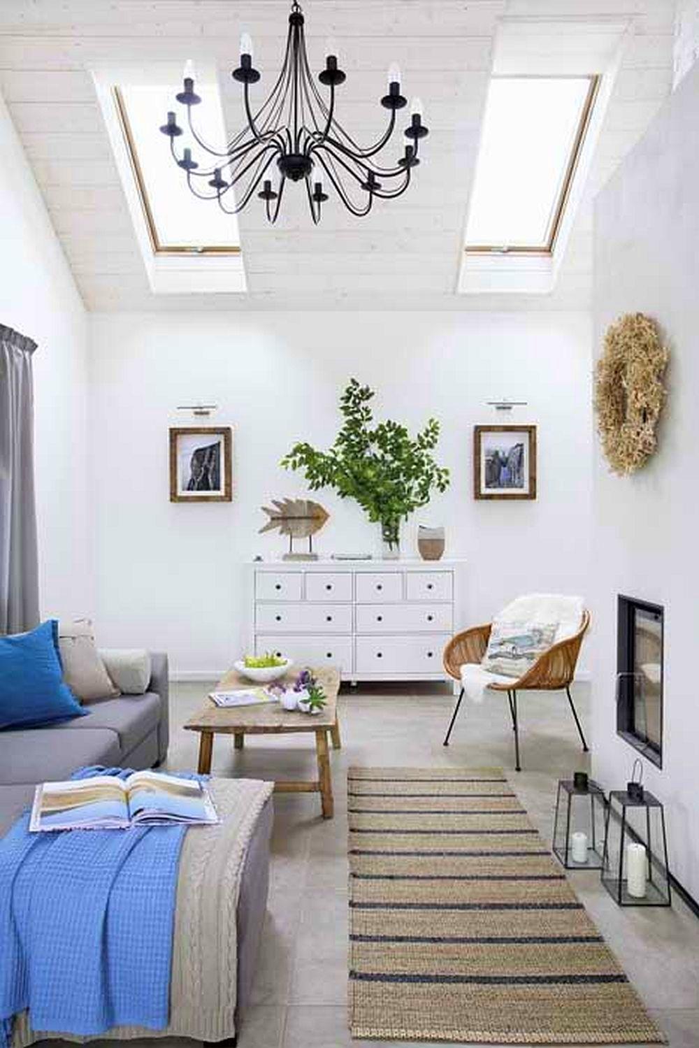 adelaparvu.com despre casa cu exterior rustic, interior modern, amenajare scandinava, casa Polonia, Foto Aneta Tryczynska (12)