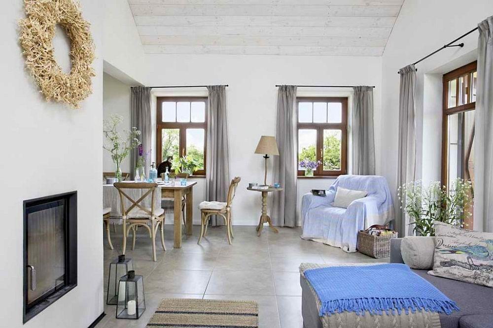adelaparvu.com despre casa cu exterior rustic, interior modern, amenajare scandinava, casa Polonia, Foto Aneta Tryczynska (4)