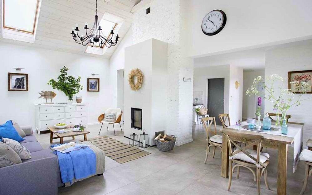 adelaparvu.com despre casa cu exterior rustic, interior modern, amenajare scandinava, casa Polonia, Foto Aneta Tryczynska (5)