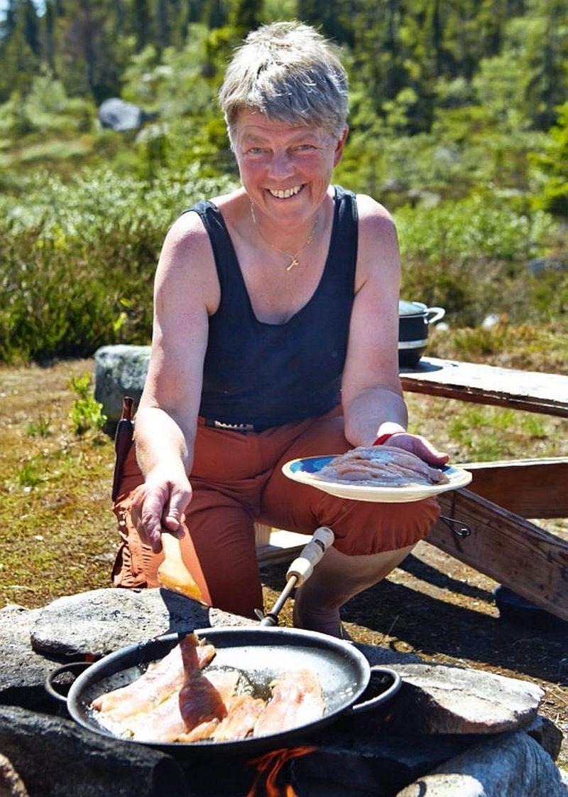 adelaparvu.com despre casa de lemn 15 mp, cabana mica, casa de vacanta Norvegia, Fyresdal, proprietar Gunhild Momrak (1)