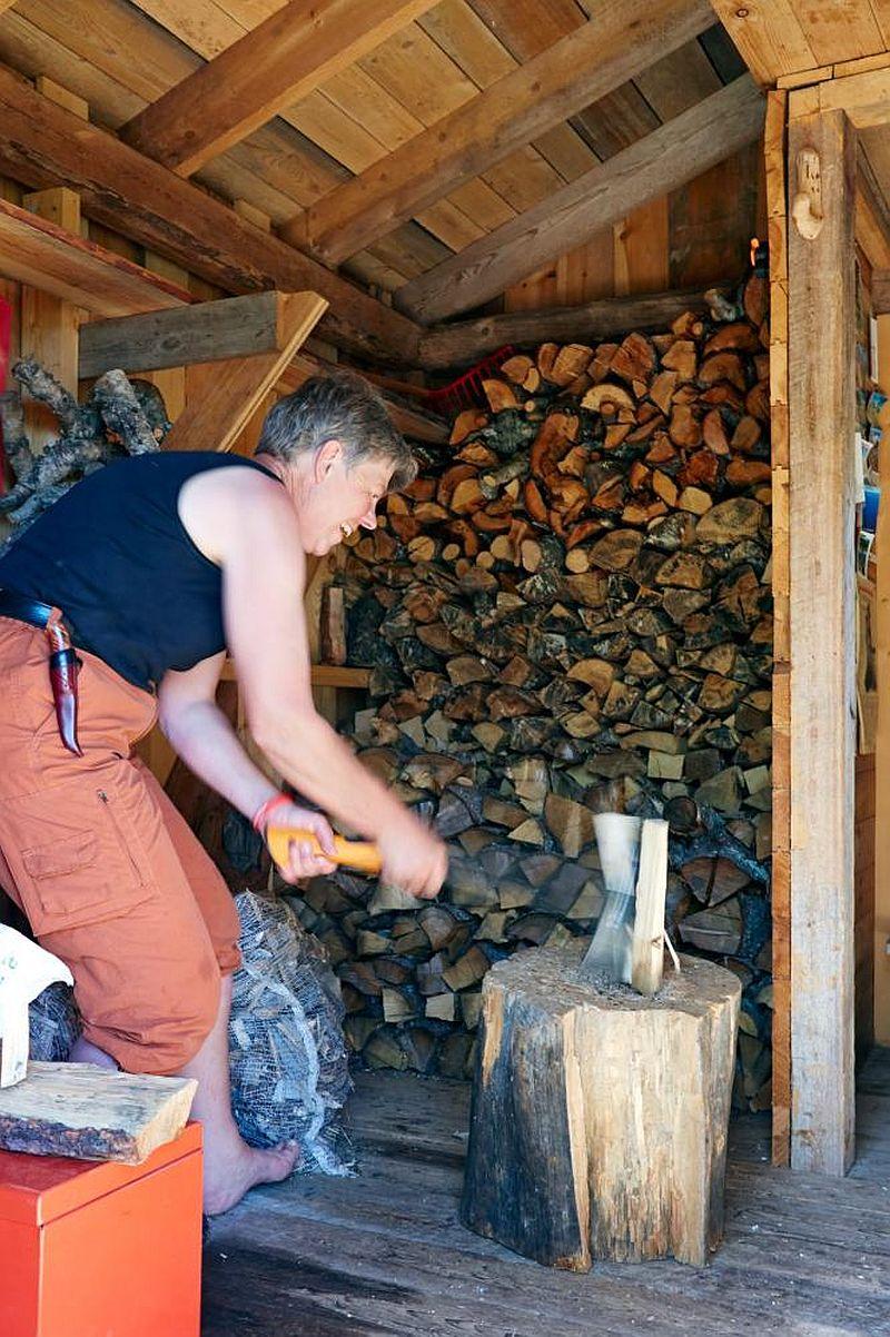 adelaparvu.com despre casa de lemn 15 mp, cabana mica, casa de vacanta Norvegia, Fyresdal, proprietar Gunhild Momrak (14)