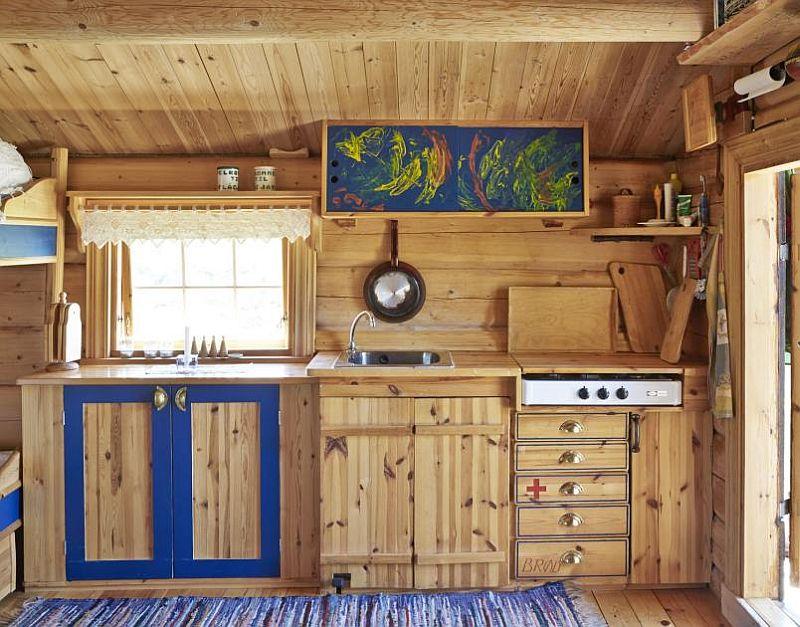 adelaparvu.com despre casa de lemn 15 mp, cabana mica, casa de vacanta Norvegia, Fyresdal, proprietar Gunhild Momrak (8)