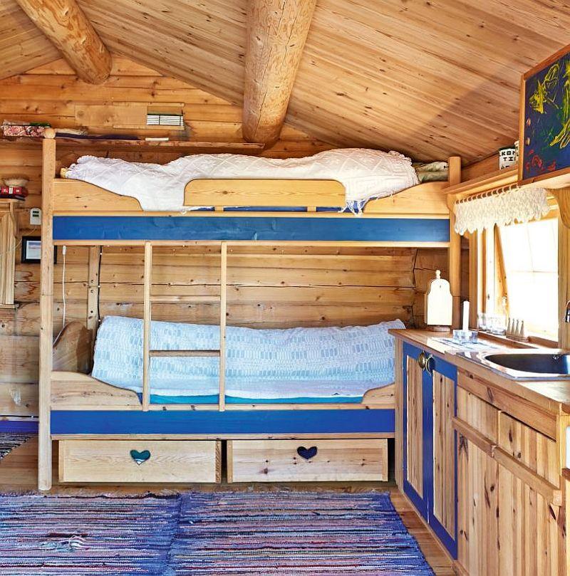 adelaparvu.com despre casa de lemn 15 mp, cabana mica, casa de vacanta Norvegia, Fyresdal, proprietar Gunhild Momrak (9)