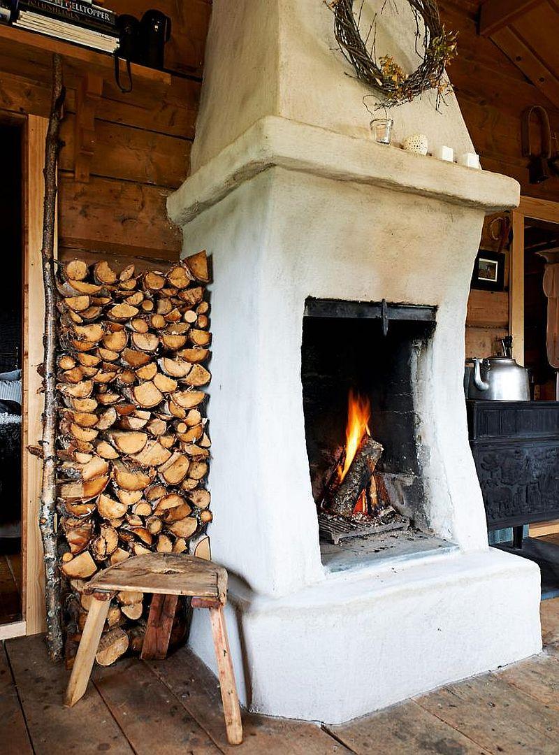 adelaparvu.com despre casa de vacanta din lemn, casa suedeza, interior rustic transformat, Foto Jan Larsen-S (7)