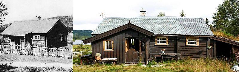 Casa inainte si dupa modificare
