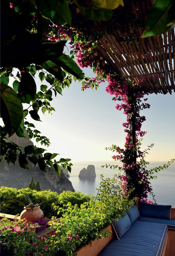 adelaparvu.com despre casa de vacanta in Italia, casa Matteo Thun in Capri (5)
