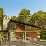adelaparvu.com despre casa de vacanta moderna, casa daneza, casa din busteni de lemn moderna, arhitect Jesper Brask, Tree House (3)