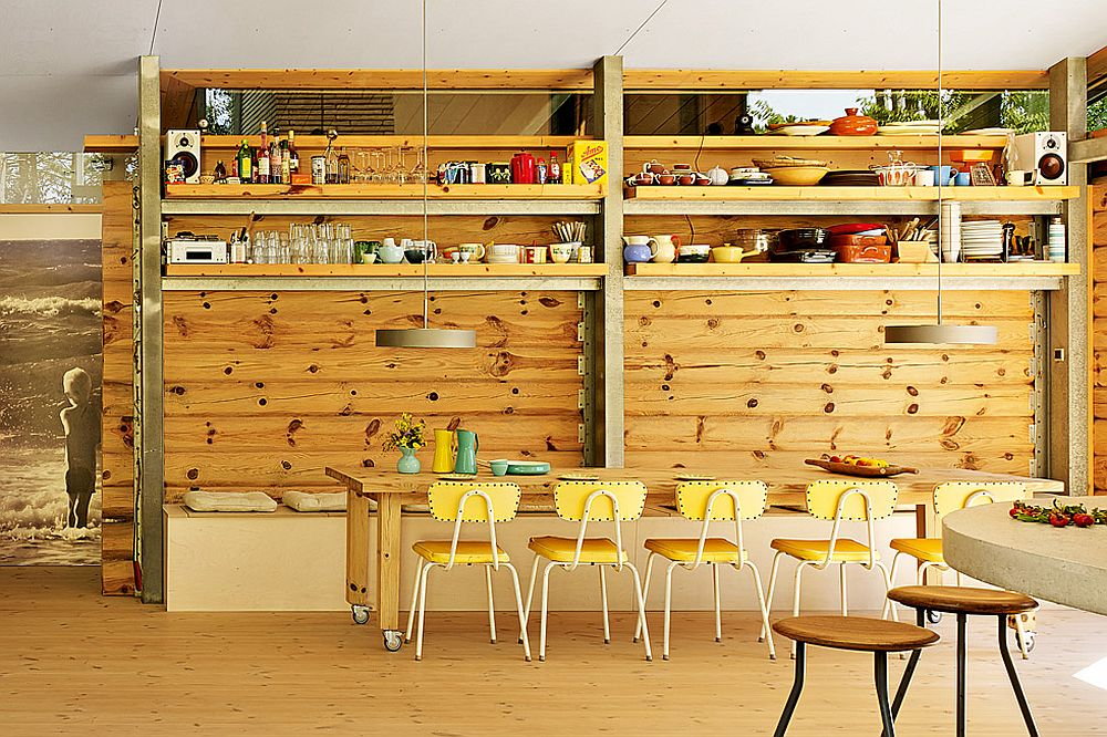 adelaparvu.com despre casa de vacanta moderna, casa daneza, casa din busteni de lemn moderna, arhitect Jesper Brask, Tree House (6)