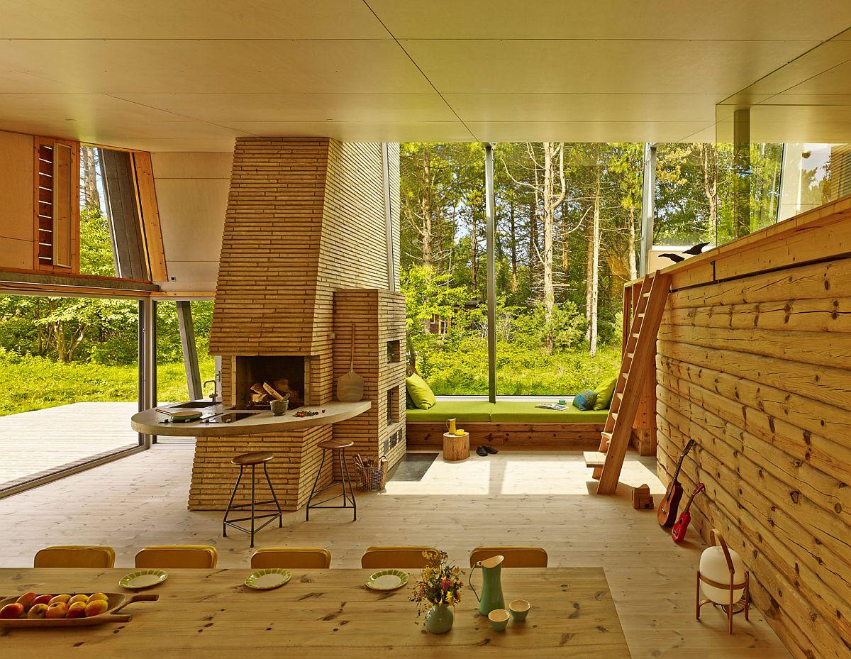 adelaparvu.com-despre-casa-de-vacanta-moderna-casa-daneza-casa-din-busteni-de-lemn-moderna-arhitect-Jesper-Brask-Tree-House, Foto James Silverman