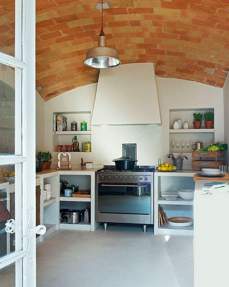 adelaparvu.com despre casa din piatra cu veranda si bucatarie de vara, casa Spania, Costa Brava, design Produccions de Disseny Bellera, Foto ElMueble (10)