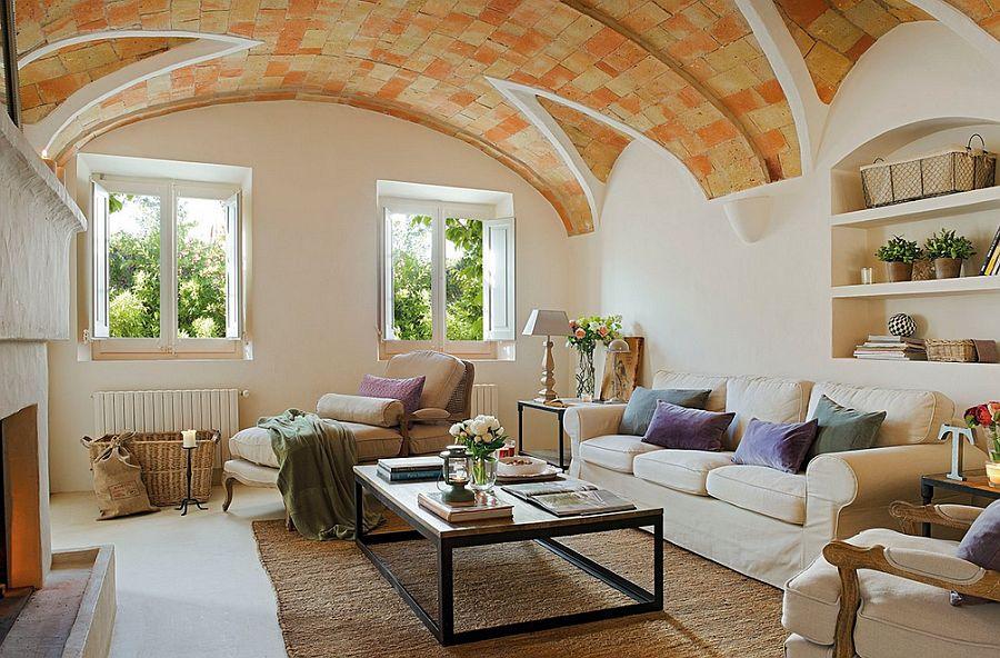 adelaparvu.com despre casa din piatra cu veranda si bucatarie de vara, casa Spania, Costa Brava, design Produccions de Disseny Bellera, Foto ElMueble (8)