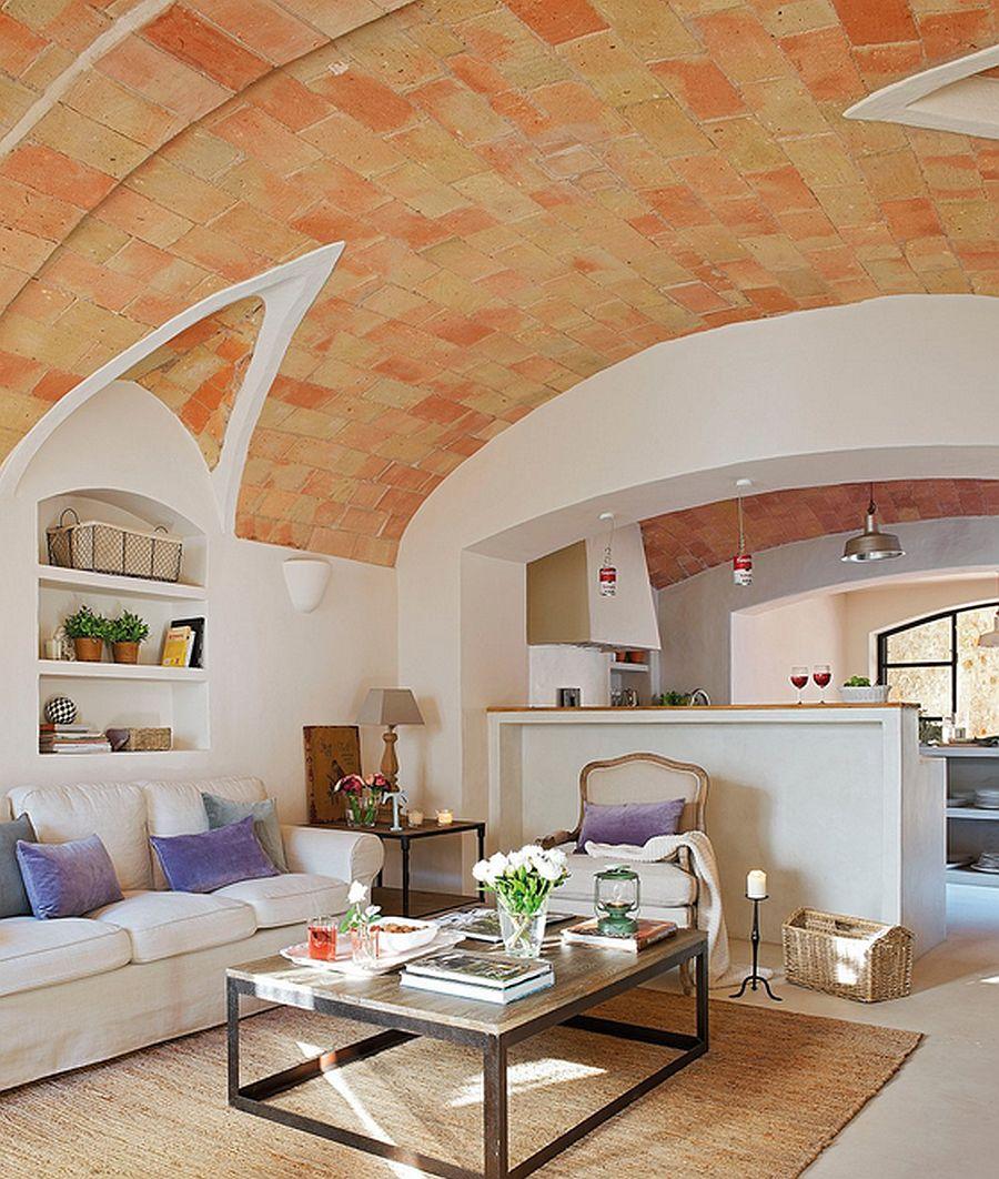 adelaparvu.com despre casa din piatra cu veranda si bucatarie de vara, casa Spania, Costa Brava, design Produccions de Disseny Bellera, Foto ElMueble (9)