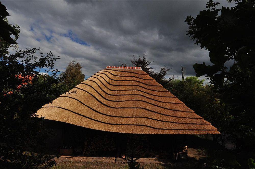 adelaparvu.com despre casa hambar cu acoperis din stuf, casa olandeza, Reet Barn, design 24 H Architecture (1)