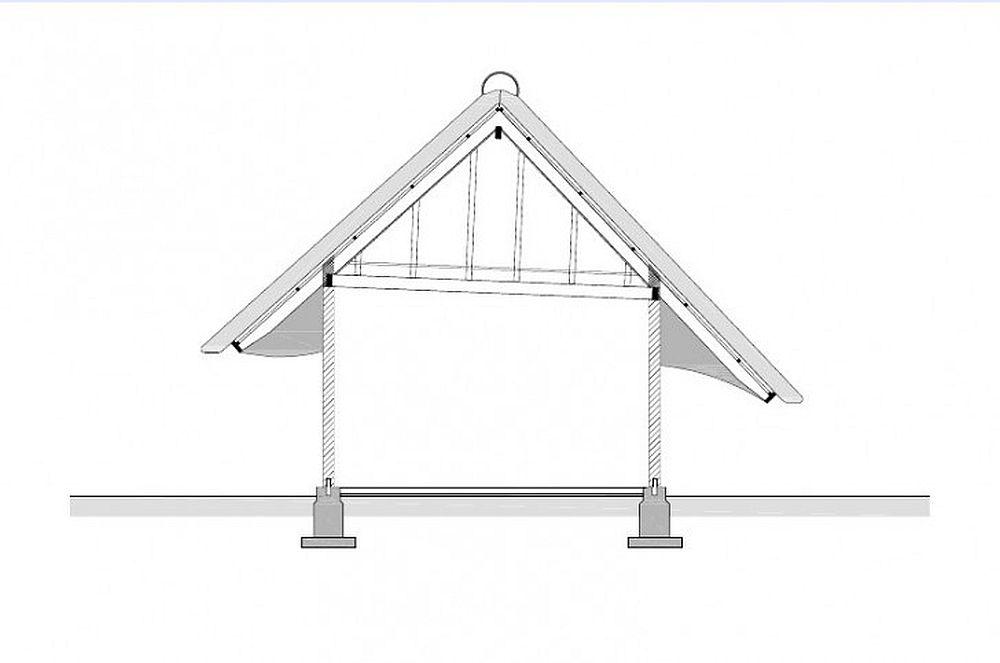 adelaparvu.com despre casa hambar cu acoperis din stuf, casa olandeza, Reet Barn, design 24 H Architecture (16)