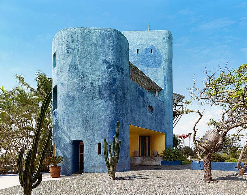adelaparvu.com despre casa in Mexic, Tigre del Mar, Casa Tigre, arh Jean Claude Galibert, Foto James Silverman(5)