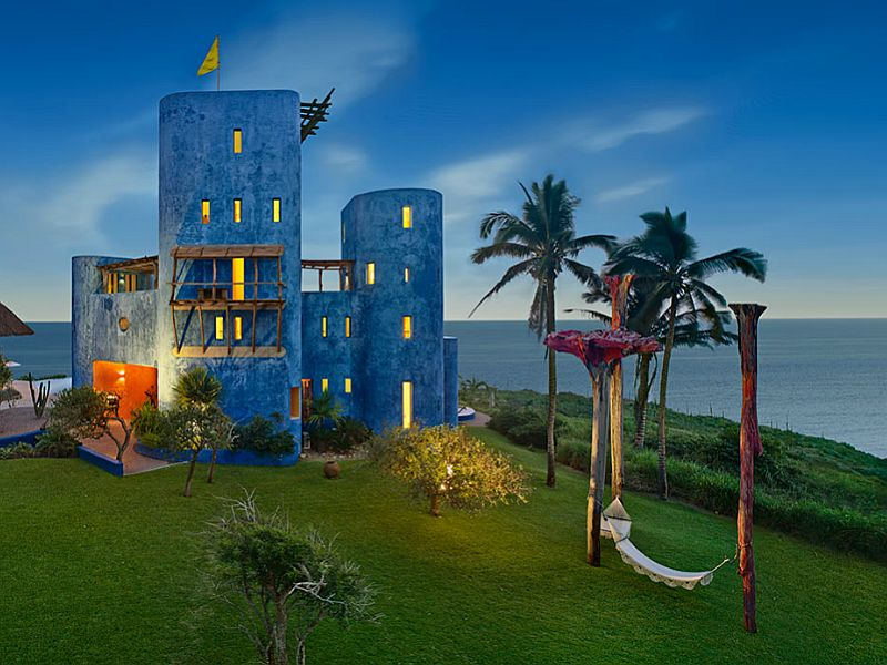 adelaparvu.com despre casa in Mexic, Tigre del Mar, Casa Tigre, arh Jean Claude Galibert, Foto James Silverman(8)