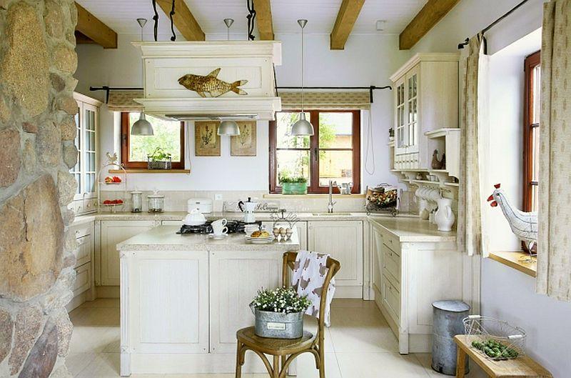 adelaparvu.com despre casa la tara din lemn cu fundatie de piatra, casa Polonia (10)