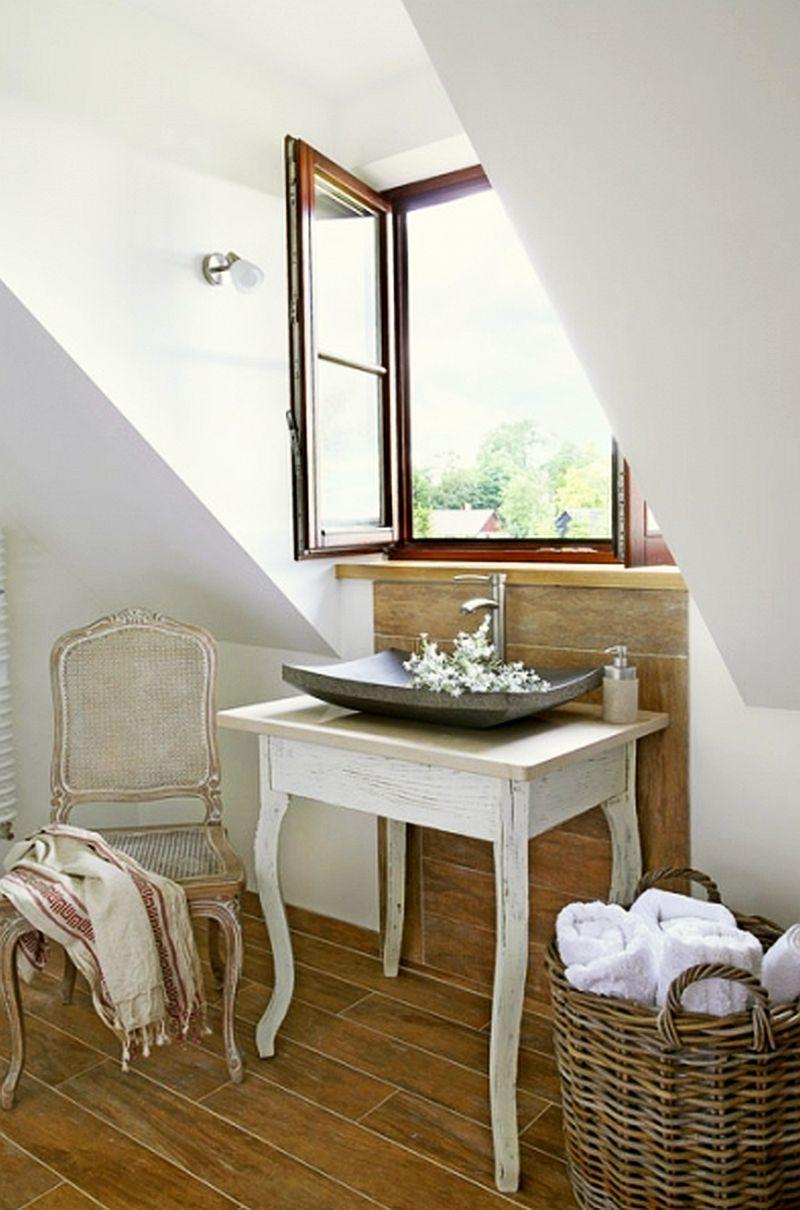 adelaparvu.com despre casa la tara din lemn cu fundatie de piatra, casa Polonia (13)