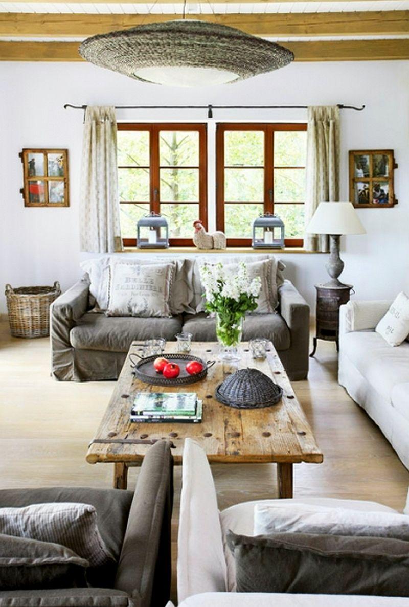 adelaparvu.com despre casa la tara din lemn cu fundatie de piatra, casa Polonia (15)
