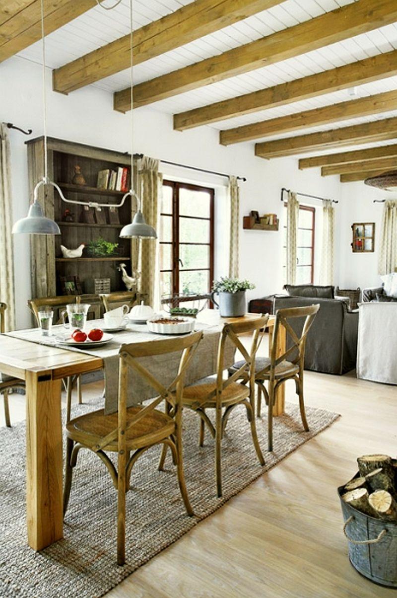 adelaparvu.com despre casa la tara din lemn cu fundatie de piatra, casa Polonia (18)