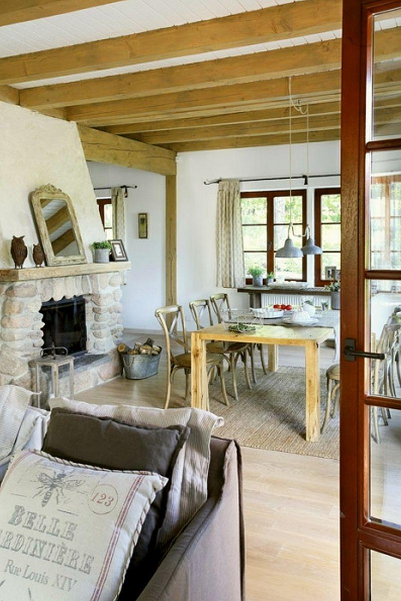 adelaparvu.com despre casa la tara din lemn cu fundatie de piatra, casa Polonia (19)