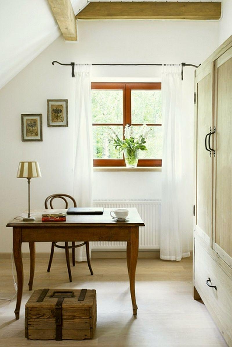 adelaparvu.com despre casa la tara din lemn cu fundatie de piatra, casa Polonia (21)