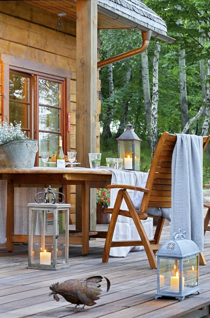 adelaparvu.com despre casa la tara din lemn cu fundatie de piatra, casa Polonia (3)