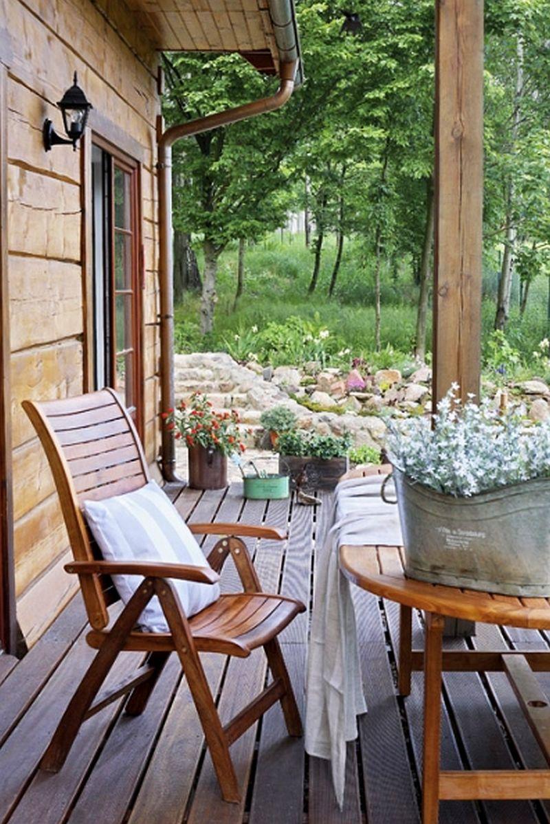 adelaparvu.com despre casa la tara din lemn cu fundatie de piatra, casa Polonia (4)